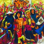 """Mạch Xuân"" Art Exhibition By Pham Luc"