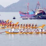 Fishing Village festival in Cat Ba Island